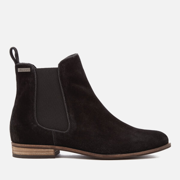 Superdry Women's Millie Suede Chelsea Boots - Black Womens ...