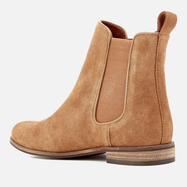 Superdry Women s Millie Suede Chelsea Boots - Rust Tan Womens ... a2f09994f2ad