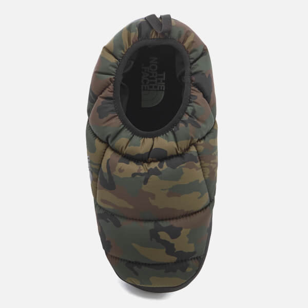 The North Face Menu0027s NSE Tent Mule III Slippers - Black Forest Woodland Camo/TNF & The North Face Menu0027s NSE Tent Mule III Slippers - Black Forest ...