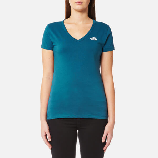 The North Face Women's Short Sleeve Simple Dome T-Shirt - Prussian Blue