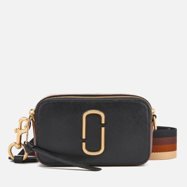 90d6021bf5 Marc Jacobs Women's Snapshot Cross Body Bag - Black/Chocolate: Image 1