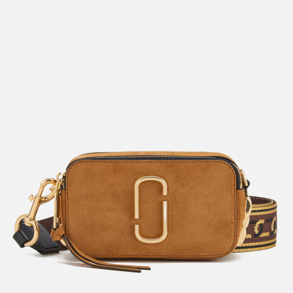 54782d13b654 Marc Jacobs Women s Chain Snapshot Cross Body Bag - Mustard  Image 1
