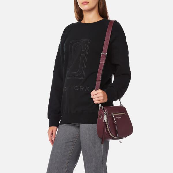 c4bcc111b2e Marc Jacobs Women s Recruit Small Nomad Shoulder Bag - Blackberry  Image 3