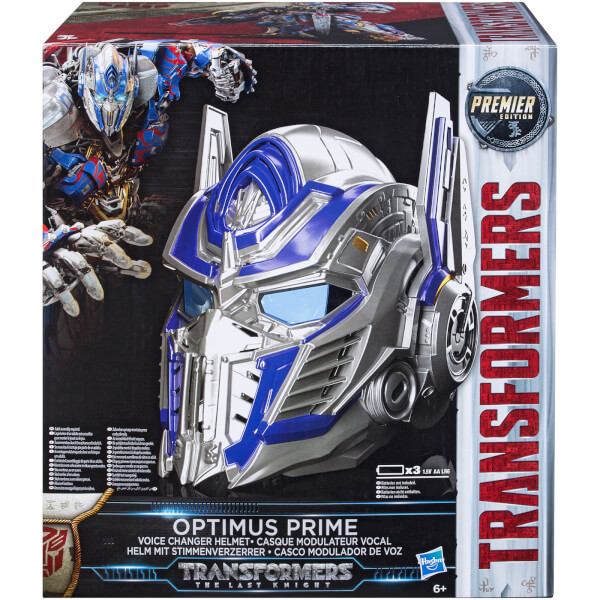 Transformers: The Last Knight Optimus Prime Voice Changer Helmet