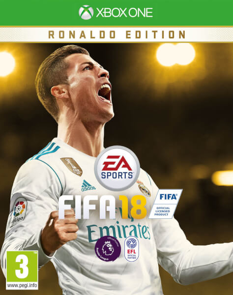 fifa 18 ronaldo edition xbox one. Black Bedroom Furniture Sets. Home Design Ideas