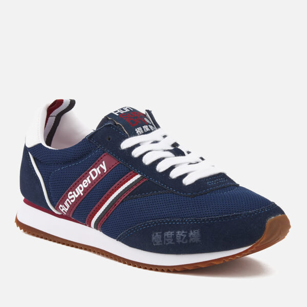 Womens Superdry Base Runner - Trainers - Navy WO22037