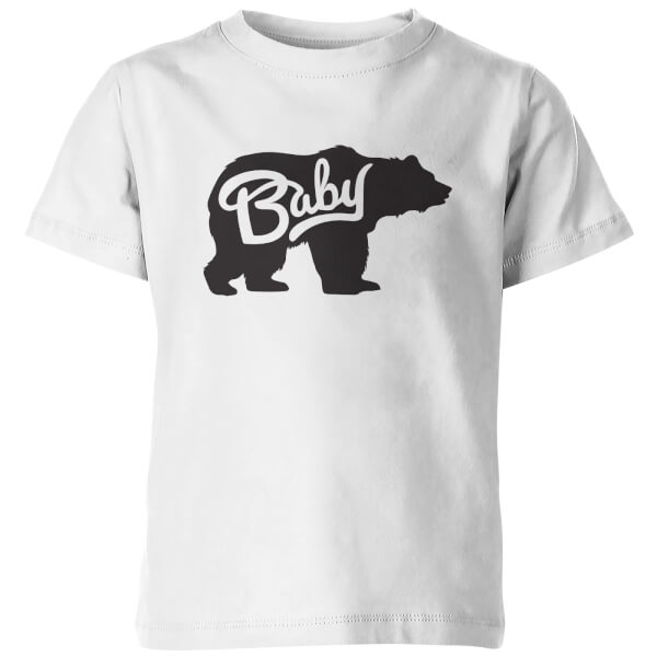 Baby Bear Kid's White T-Shirt