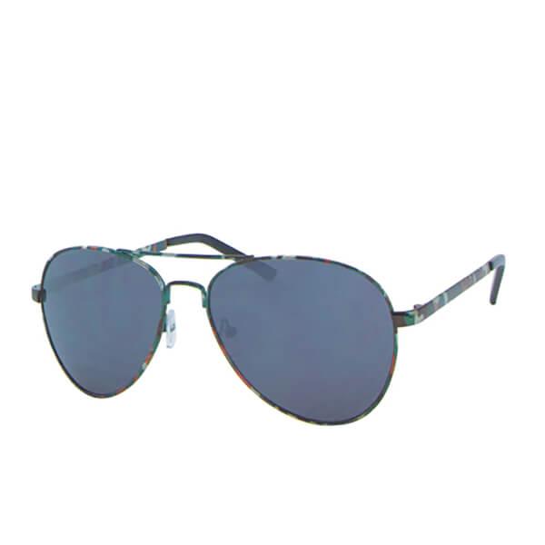 Men's Aviator Camo Sunglasses - Khaki