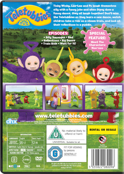 Teletubbies Brand New Series Silly Fun Dvd Zavvi