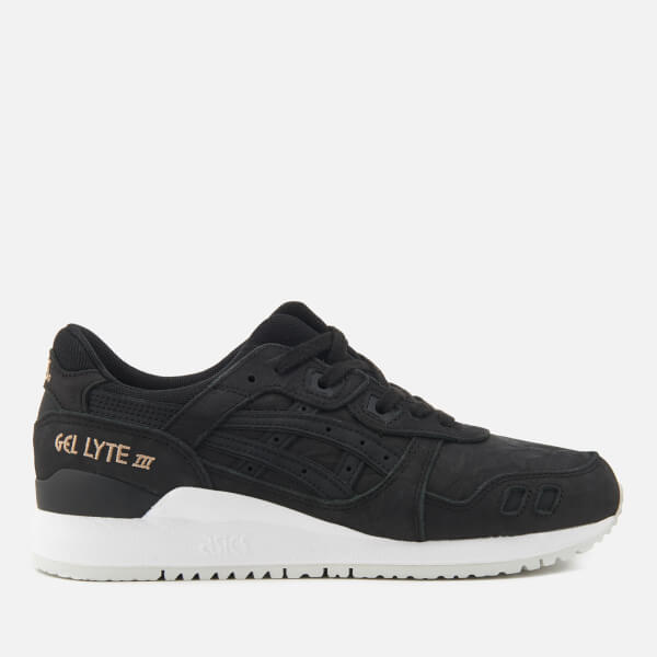 Asics Lifestyle Women s Gel-Lyte III Leather Trainers - Black Black  Image 1 bb133454d