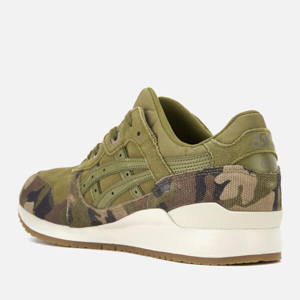 Asics Lifestyle Men's Gel-Lyte III Trainers - Martinini Olive - UK 10