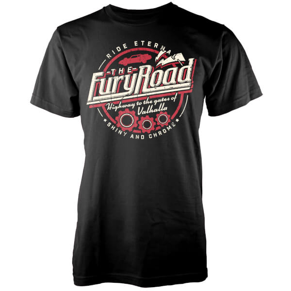 T-Shirt Fury Road -Noir