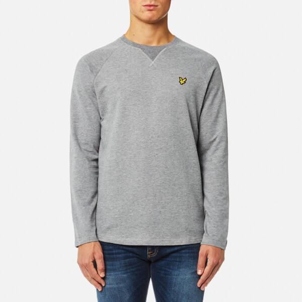 Lyle & Scott Men's Lightweight Crew Neck Sweatshirt - Mid Grey