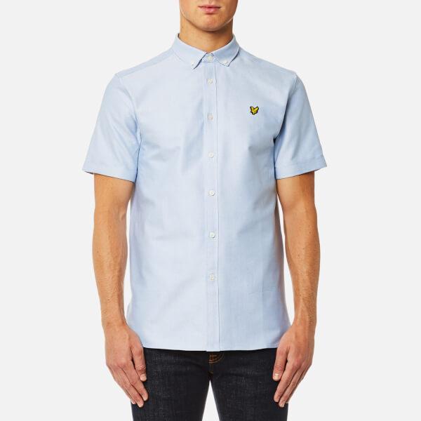 Lyle & Scott Men's Short Sleeve Oxford Shirt - Riviera