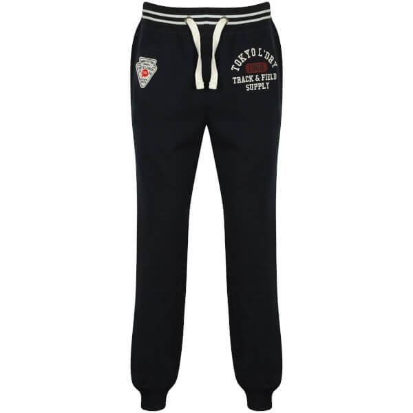 Tokyo Laundry Men's Red Lake Falls Cuffed Sweatpants - Dark Navy