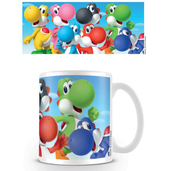 Super Mario Coffee Mug (Yoshi)