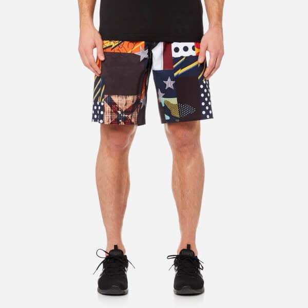 Reebok Men's CrossFit Super Nasty Core Board Shorts - Primal Yellow: Image 1