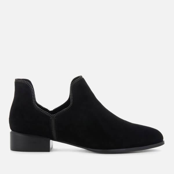 Senso Women's Bailey VIII Suede Ankle Boots - Ebony/Black Zip