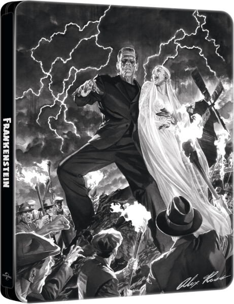 Frankenstein: Alex Ross Collection - Zavvi Exclusive Steelbook