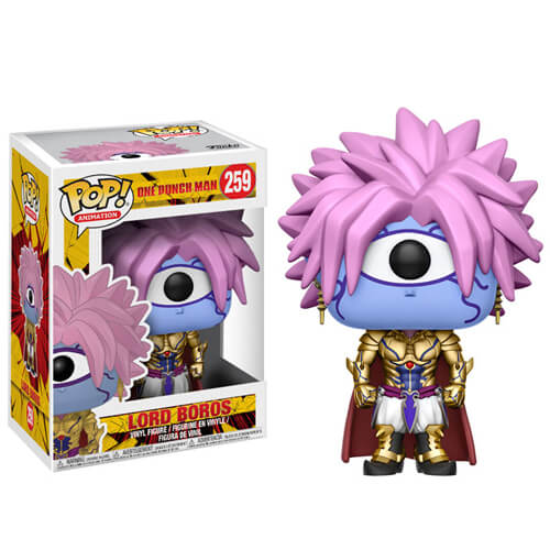 One Punch Man Lord Boros Pop Vinyl Figure Pop In A Box Uk
