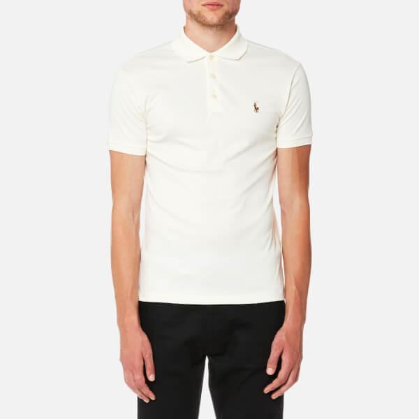 cream ralph lauren shirt