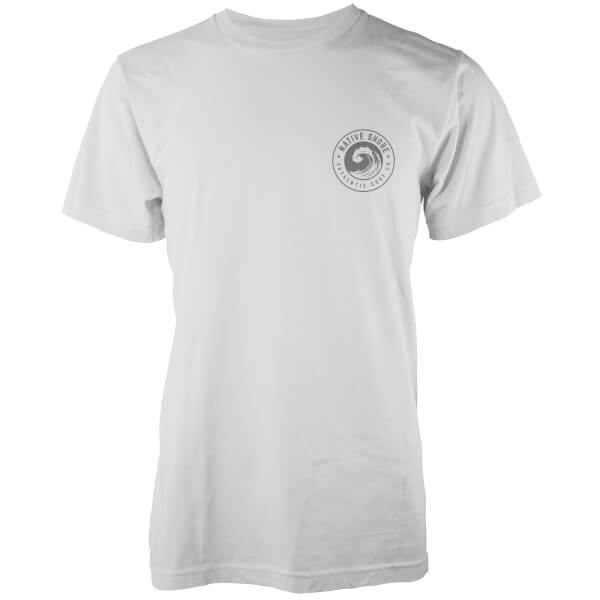 Native Shore Men's Authentic Shore Pocket Print T-Shirt - White