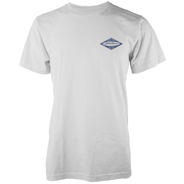 T-Shirt Homme Core Board Native Shore - Blanc
