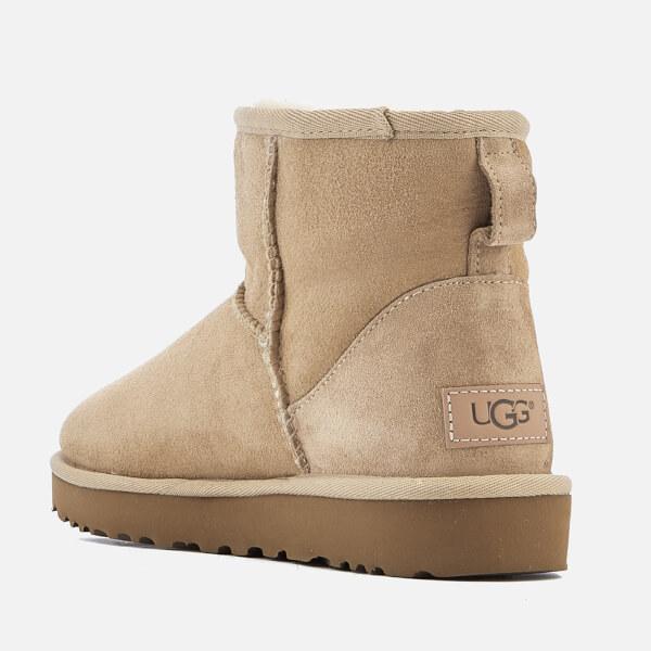 UGG Women s Classic Mini II Sheepskin Boots - Sand Womens Footwear ... 26b396d9b