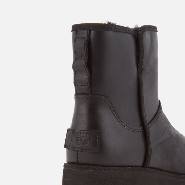 d5561d0e7c2 ... reduced ugg womens kristin classic slim leather sheepskin boots black  image 6 e2f0f df874