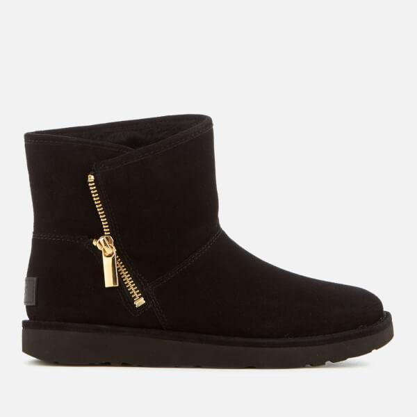 UGG Women's Kip Suede Zip Side Boots - Nero - UK 4.5 9JMrQu3vM