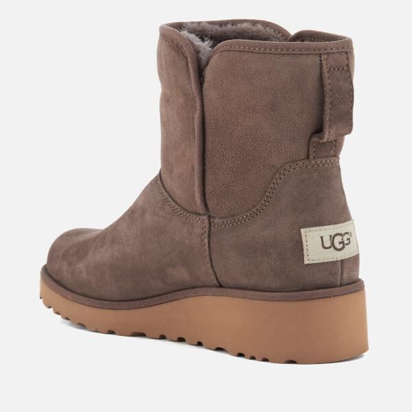 UGG Women's Kristin Classic Slim Sheepskin Boots - Slate: Image 4