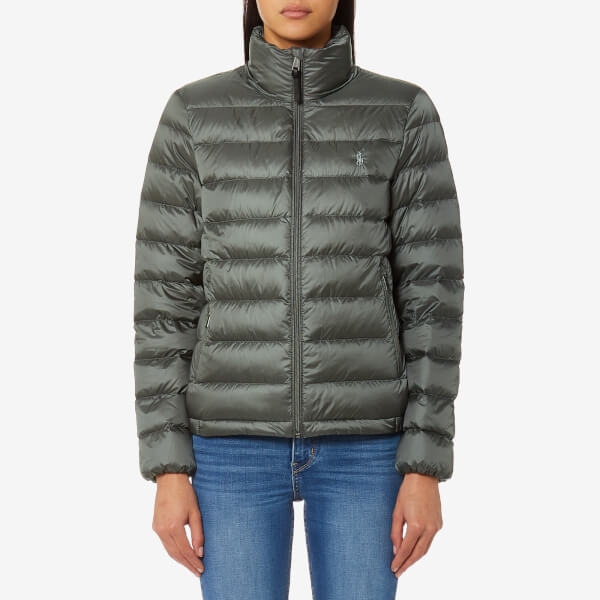 Polo Ralph Lauren Women S Lightweight Nylon Down Coat