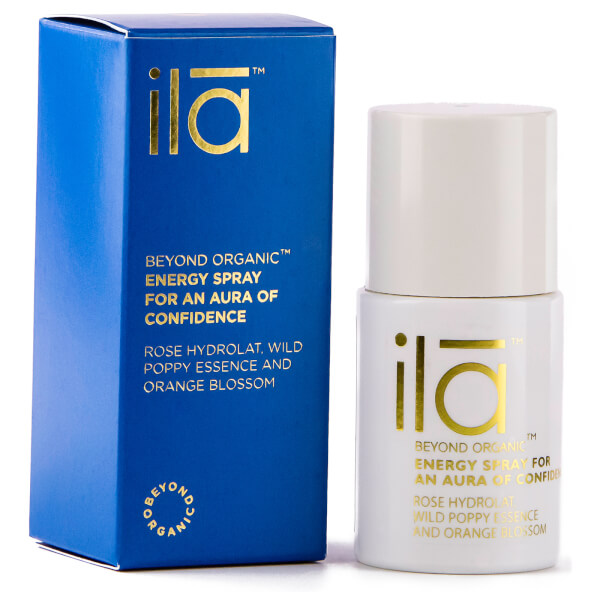 ila-spa Energy Spray for an Aura of Confidence