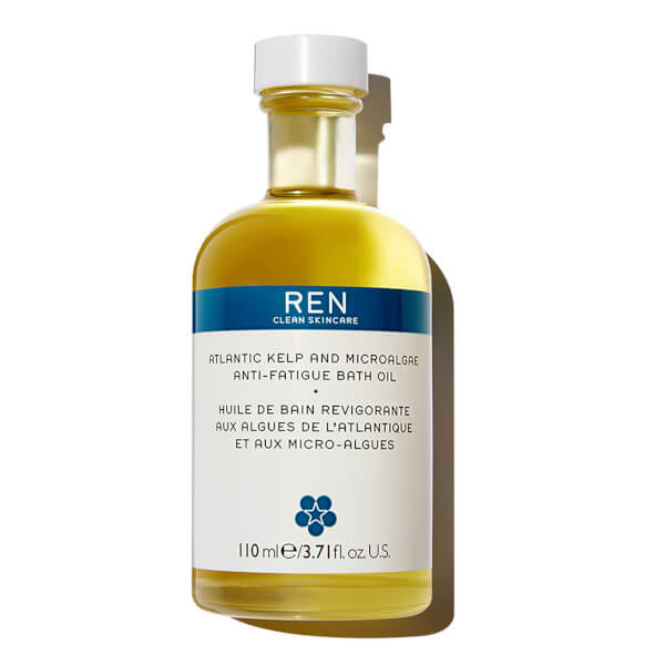 REN Skincare Atlantic Kelp and Microalgae Anti-Fatigue Bath Oil 110ml