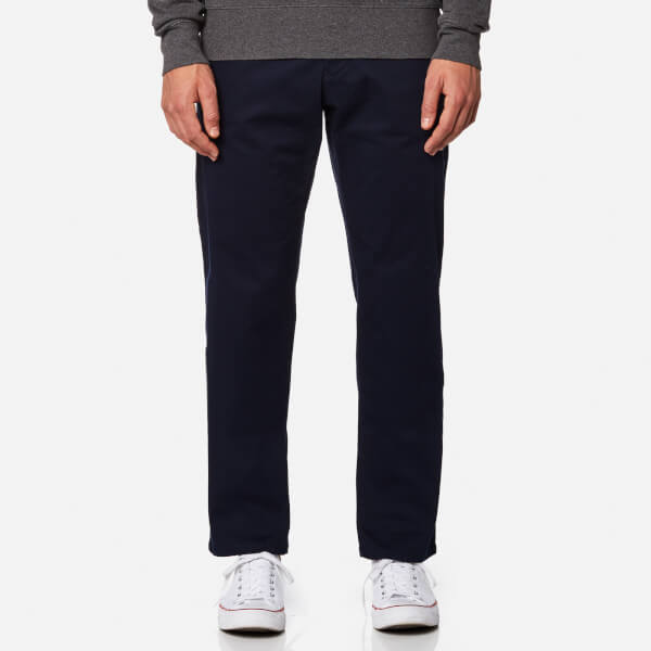 Regular Fit Twill Jeans - Marine GANT