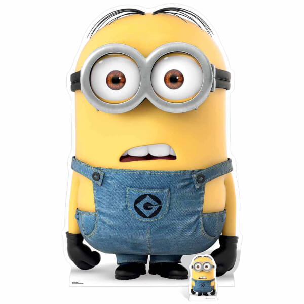 Despicable Me 3 Minion Dave Over Sized Cut Out Iwoot