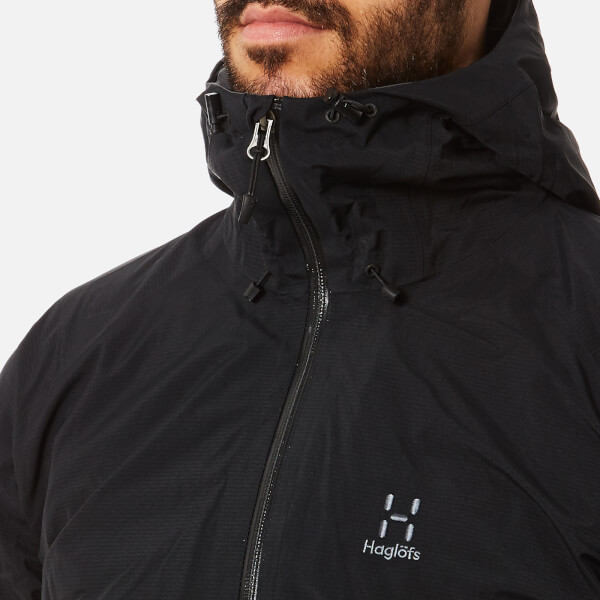 Haglöfs Men's Virgo GORE-TEX Jacket - True Black Clothing ...