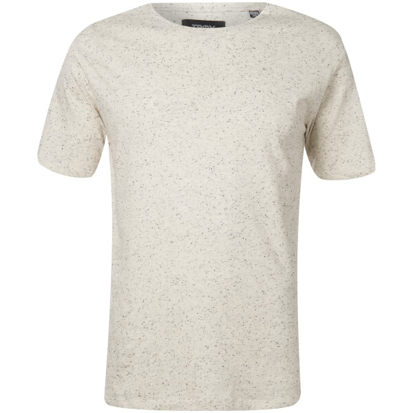 Troy Men's Jamie Nep Yarn T-Shirt - Blank De Blanc