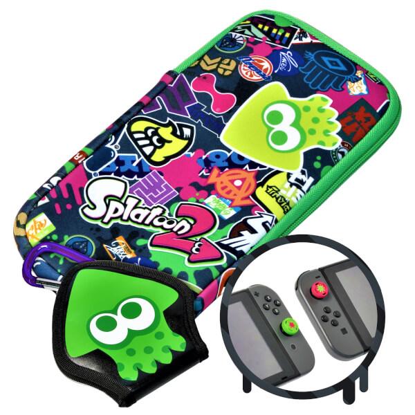 Nintendo Switch Accessory Set - Splatoon 2 Splat Pack