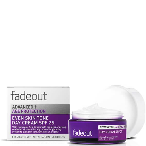 Fade Out ADVANCED + Age Protection Even Skin Tone Day Cream SPF 25 50ml