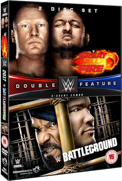WWE: Great Balls Of Fire 2017 + Battleground 2017 Double Feature
