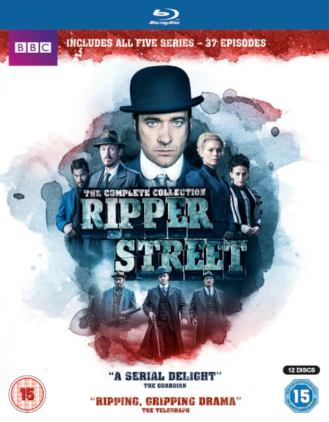 Ripper Street Box Set - Series 1-5