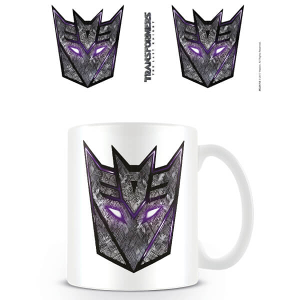 Tasse Transformers The Last Knight (Logo Déception)
