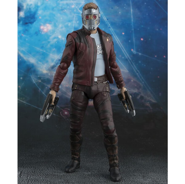 Guardians of the Galaxy Vol. 2 S.H. Figuarts Star-Lord & Explosion 17cm Action Figure
