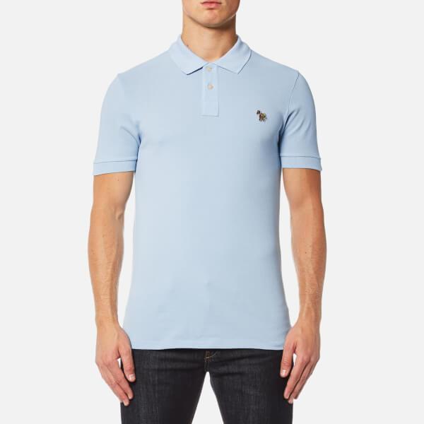 PS by Paul Smith Men's Zebra Logo Polo Shirt - Sky