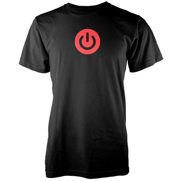 Gaming Power Button Men's Black T-Shirt