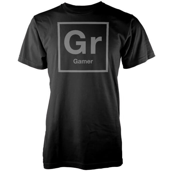 Gr Periodic Element Men's Black T-Shirt