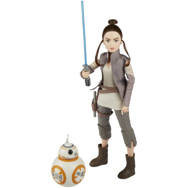 Hasbro Star Wars Forces of Destiny Rey of Jakku and BB8 Action Figures