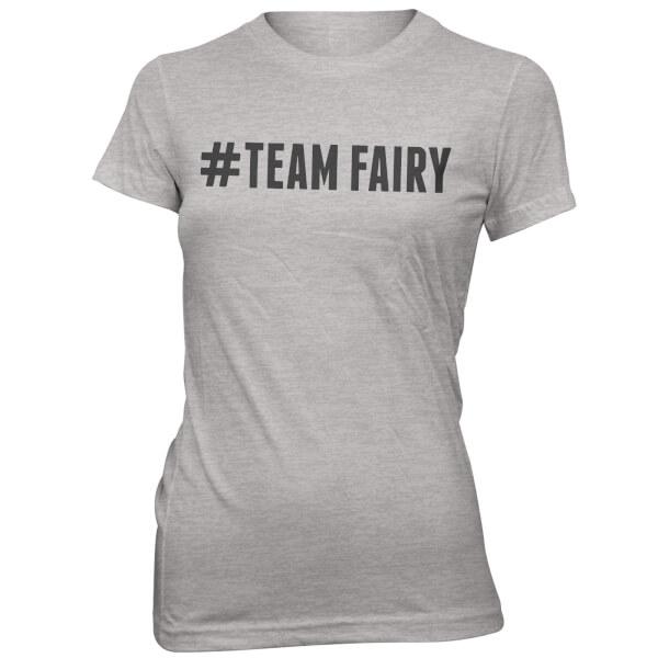 Hashtag Team Fairy Women's Grey T-Shirt