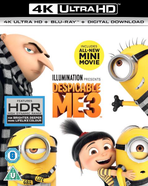Despicable Me 3 - 4K Ultra HD (Digital Download)